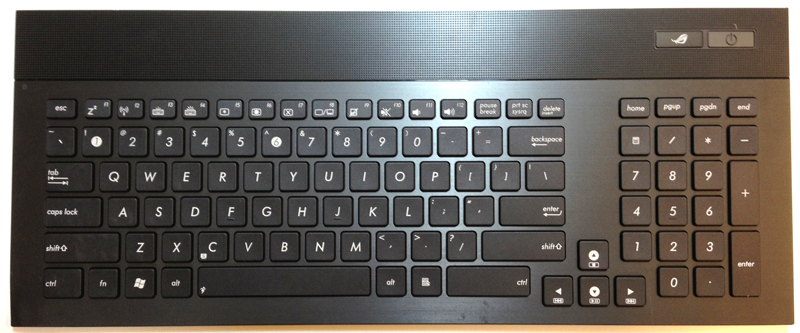 Asus G74 Laptop Keyboard Key Replacement