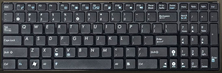 Asus A73S Keyboard Key Replacement