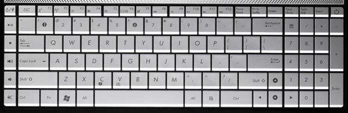 Asus N55 laptop keyboard key