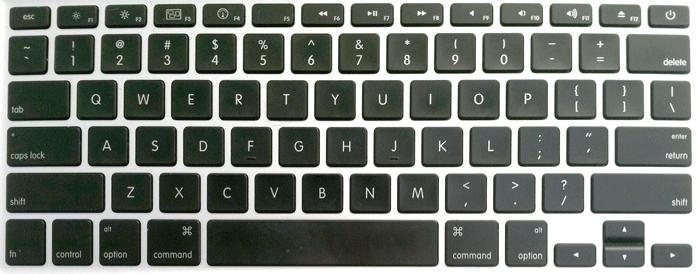 Apple Unibody Macbook Pro Keyboard Key Replacement (2013 - 2016)