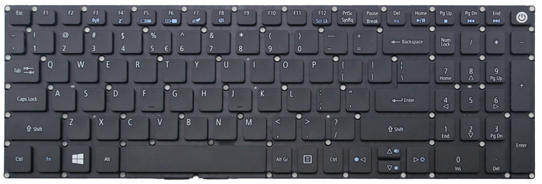 Acer Aspire A315-52-50N9 Keyboard Key Replacement