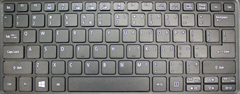Acer Aspire R3-131 Replacement Keyboard Keys