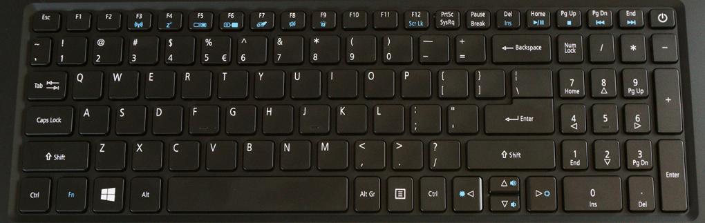 Acer Aspire V15 Replacement Laptop Keyboard Keys