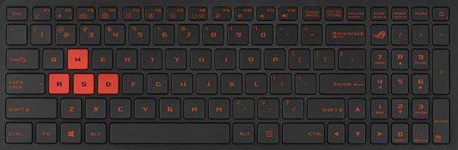 Asus Strix GL502VML Keyboard Keys Replacement