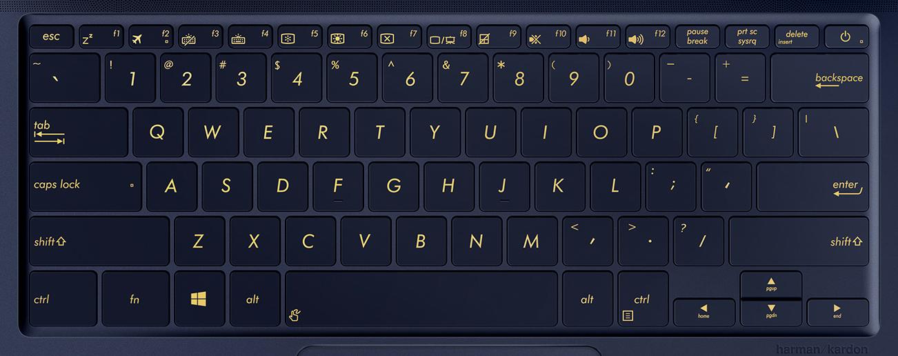 Asus ZenBook 3 UX490U Keyboard Key Replacement