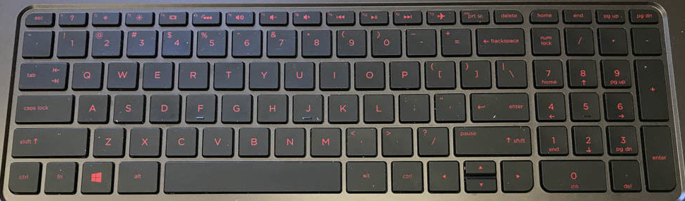 HP Pavilion 15-P393NR Keyboard Keys Replacement (Beats Edition)