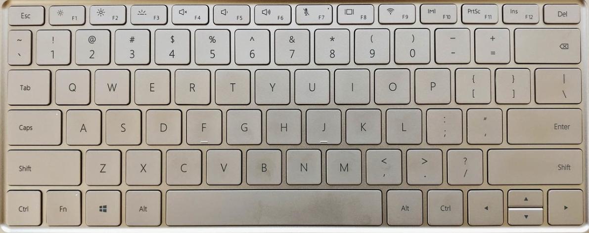Huawei MateBook X keyboard Key Replacement