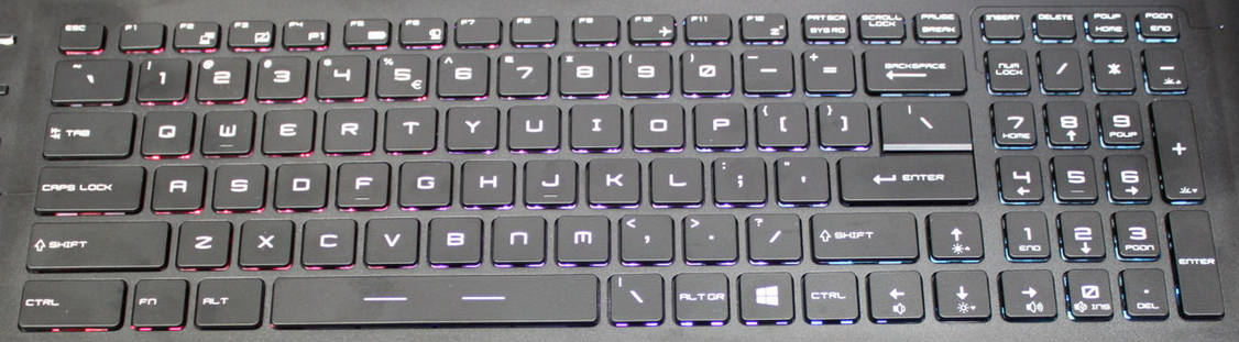 MSI PE60 Laptop Keyboard Key Replacement