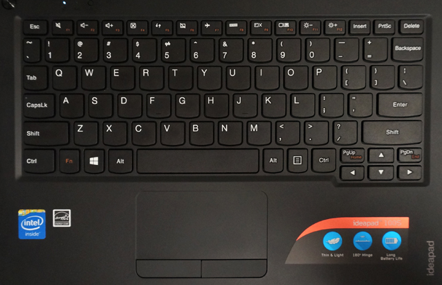Lenovo IdeaPad 100S Keyboard Key Replacement
