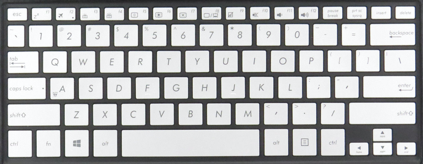 Asus TP300L keyboard key replacement