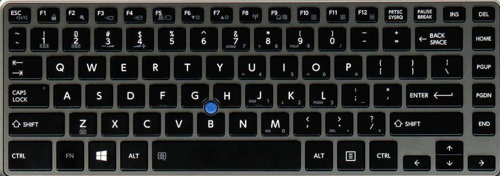 Toshiba Z30 Laptop Keyboard Key Replacement