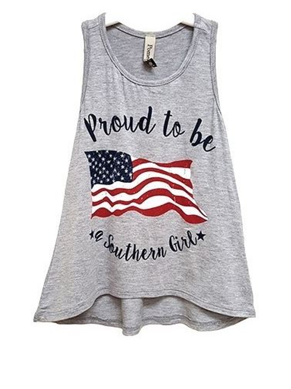 Proud to be a Southern Girl Toddler Tank Top - Early Bird Boutique ecdb83137
