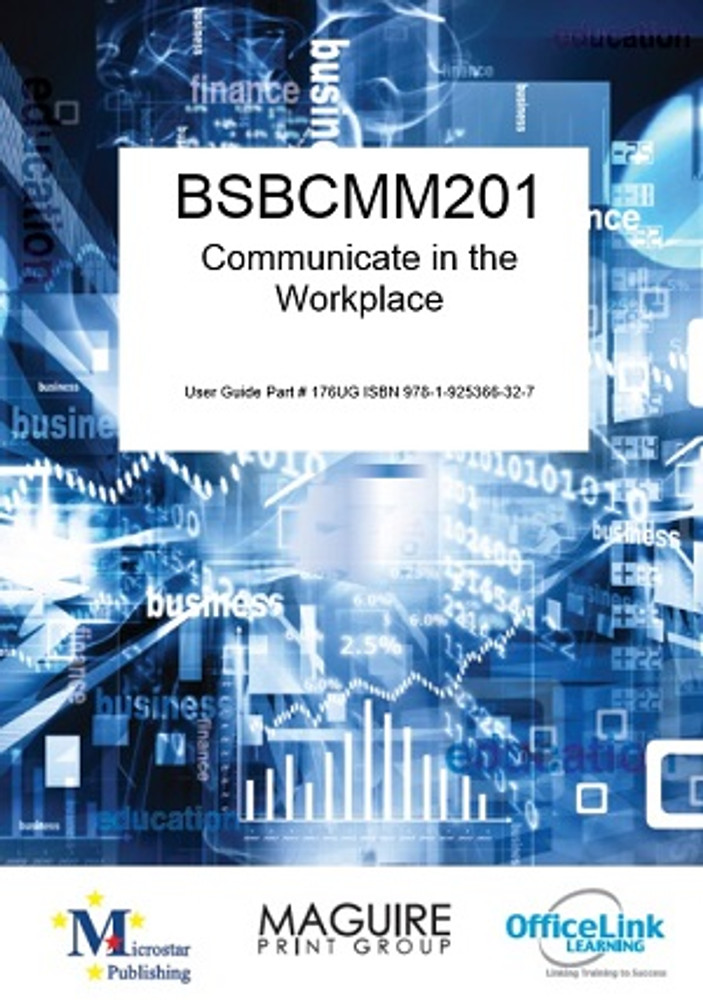 BSBCMM201 Communicate in the workplace