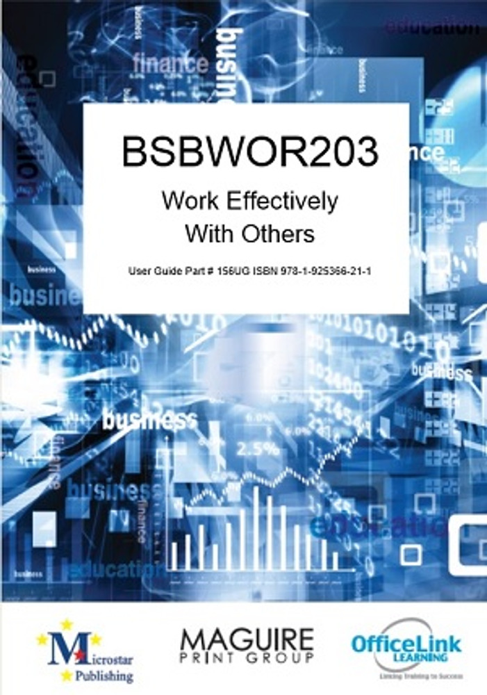 BSBWOR203 Work Effectively with Others