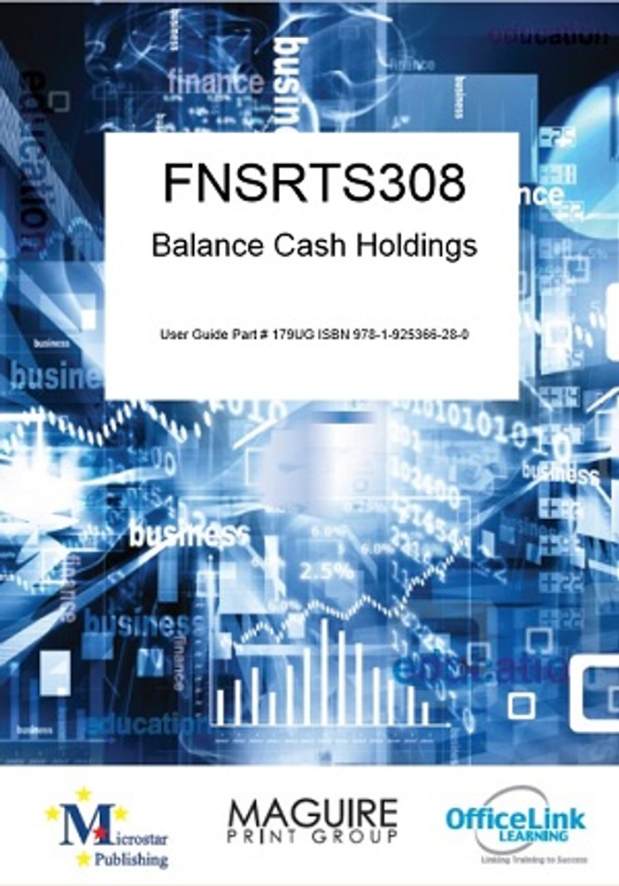 FNSRTS308 Balance Cash Holdings