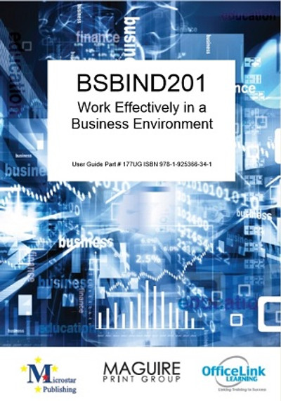 BSBIND201 Work Effectively in a Business Environment