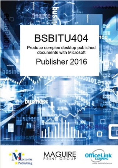 BSBITU404 Complex Publisher 2016