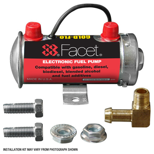 FEP87SV Facet Gold-Flo 476087E Fuel Pump Installation Kit