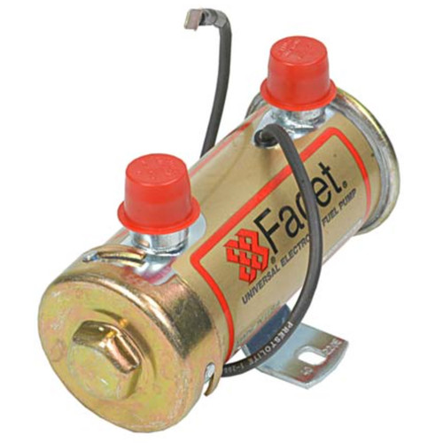 40220E Facet Gold-Flo Fuel Pump, 12 Volt, 4.0-5.5 PSI, 36 GPH