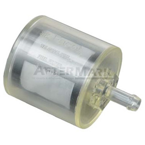 FEP43176 Facet Clear Barb Fuel Filter for Cube & Posi-Flo Pumps