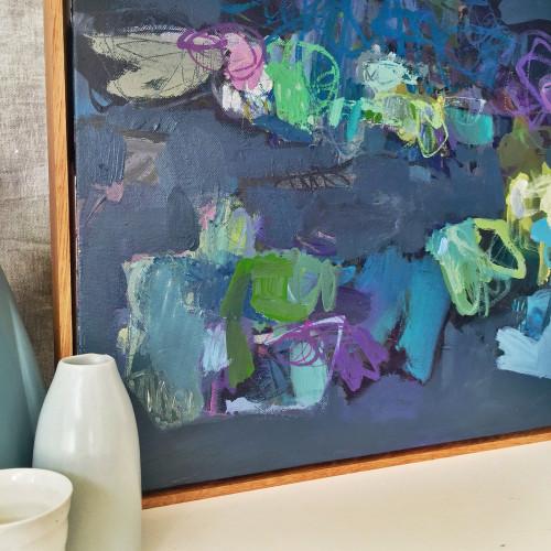 Kate Barry Artist | Roving | 54cm x 54cm