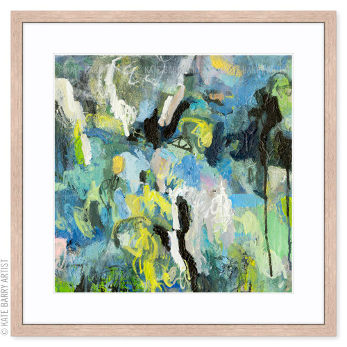 Waterfall Play limited edition art print   Natural   Kate Barry Artist