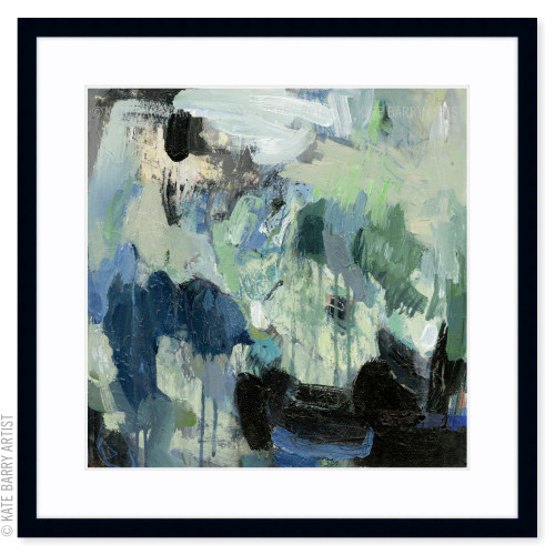 Moss limited edition art print | Black | Kate Barry Artist
