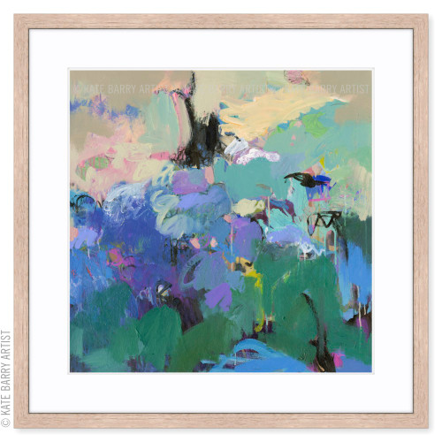 The Jam limited edition art print | Natural | Kate Barry Artist neutral abstacts