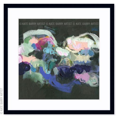 Traverse limited edition art print   Black   Kate Barry Artist