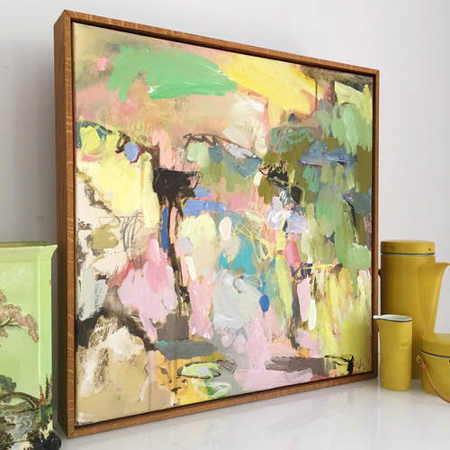 Kate Barry Artist   Harvest    54 cm x  54 cm   Acrylic on canvas