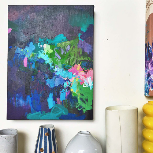 Blossie in situ | Acrylic on canvas by Kate Barry