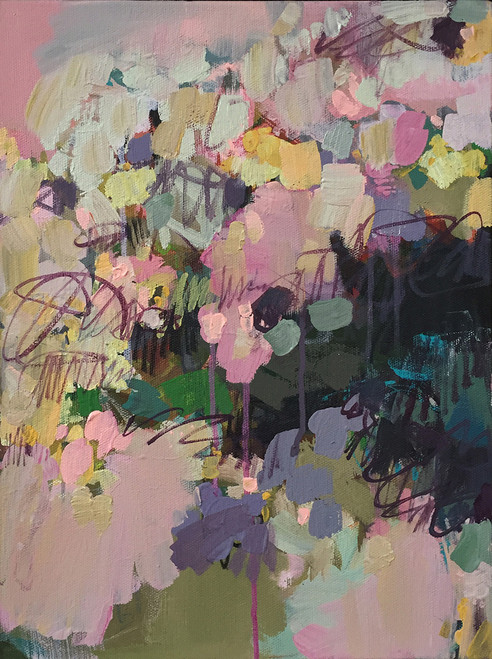 Blossom | Acrylic on canvas by Kate Barry