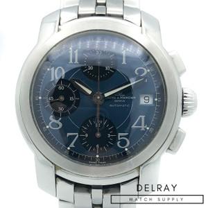 Baume et Mercier Capeland Chronograph Blue Dial