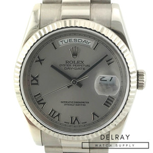 Rolex Day Date 118239 18K White Gold