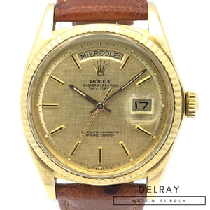 Rolex Day Date 1803 Linen *PRICE DROP*