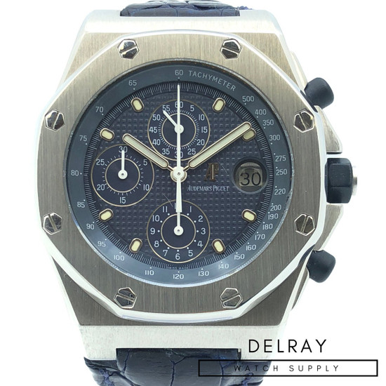 Audemars Piguet Royal Oak Offshore- Blue Dial