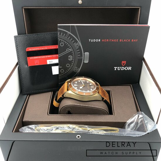 Tudor Black Bay Bronze 1