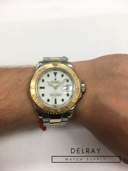 Rolex Yachtmaster Two-Tone Gem Dial 16623