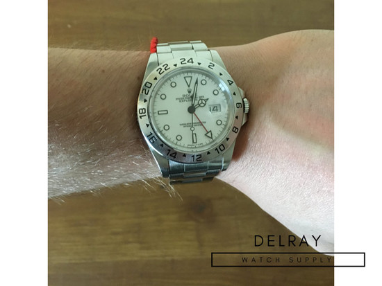 Rolex Explorer II 16750 Polar Dial *Full Kit*
