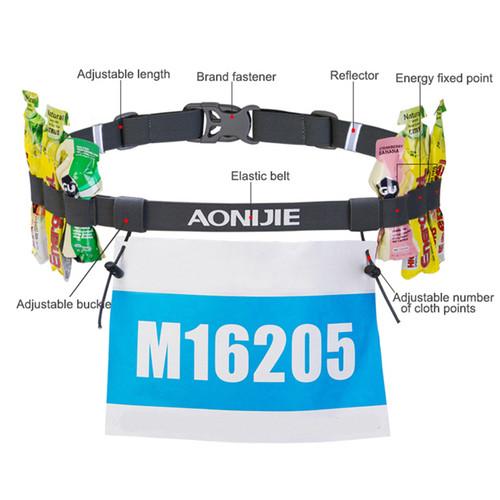Race Number Belt