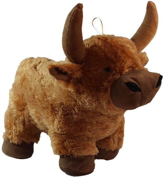 18 Inch Large Soft Fluffy Highland Cow Toy 18 Inches Tall Soft Fluffy Toy