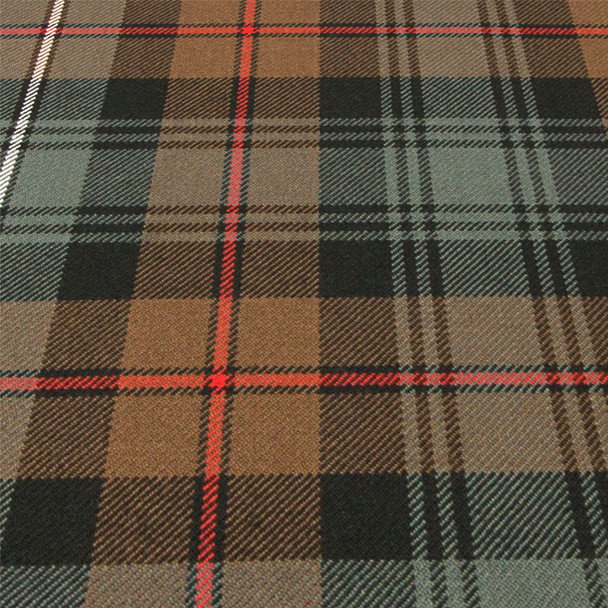 Heavy Weight 16oz Fabric Material Robertson Hunting Weathered Tartan 1 Metre