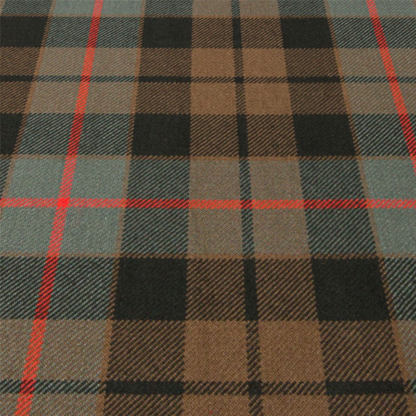 Heavy Weight 16oz Fabric Material Morrison Green Weathered Tartan 1 Metre