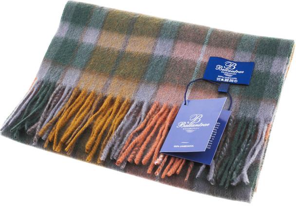 100% Lambswool Scarf Buchanan Antique Scottish Gift Winter Scotland