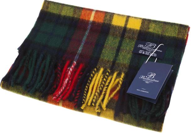 100% Lambswool Scarf Buchanan Scottish Gift Winter Scotland