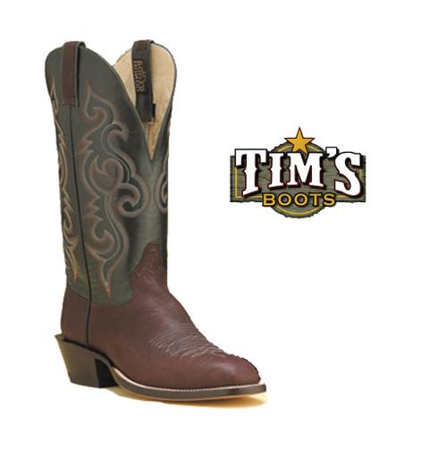 Hondo Boots Cocoa Pull Up