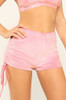Baby Girl Shorts - Pink Velour