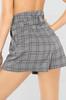 Pretty Prestigious Shorts - Grey Plaid