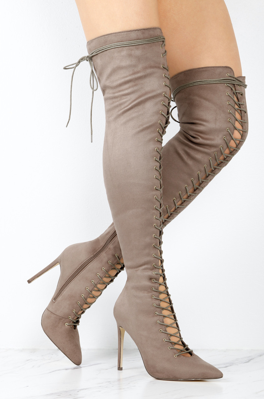 outlet cost String Em Along - Taupe sale under $60 cheap looking for VUCC0