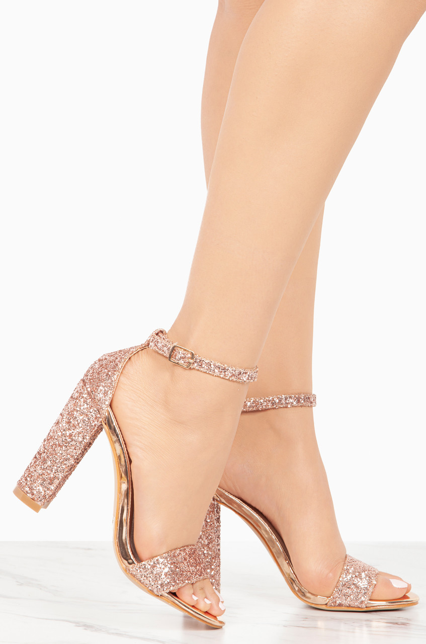 Step Aside - Rose Gold Glitter buy cheap affordable h8j3F